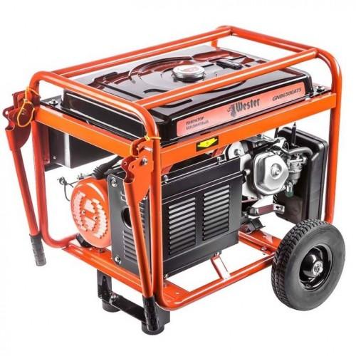 Генератор бензиновый WESTER GNB6500ATS