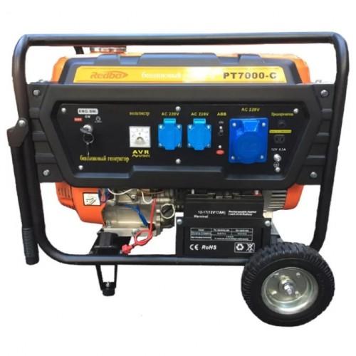 Генератор бензиновый REDBO PT7000C