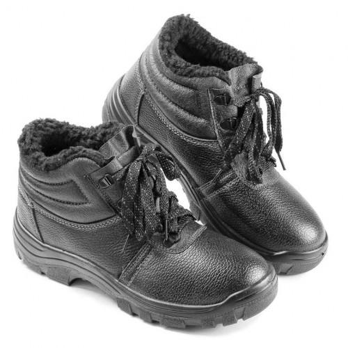 Ботинки кожаные утепленные с МБС ПУ подошвой (3208)