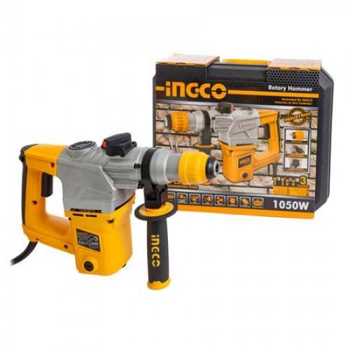 Перфоратор INGCO RH10508 INDUSTRIAL (1050 Вт) + оснастка